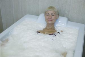 Herbal pearl bath in Estonian Spas