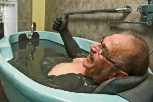 Mud Bath in Estonian Spa