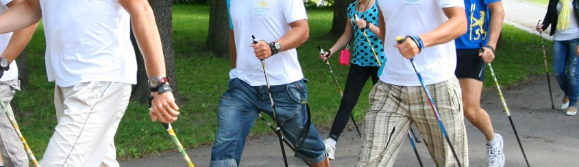 Nordic Walking in Estonian Spas