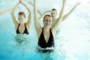 Water gymnastics in Estonian Spas