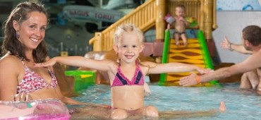 Relaxing Family package in Kalev SPA Hotel & Water Park in Estonia